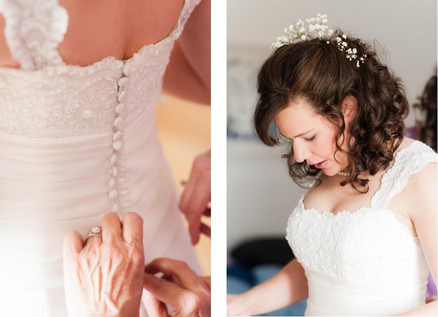 Brautkleid Hochzeitsfoto