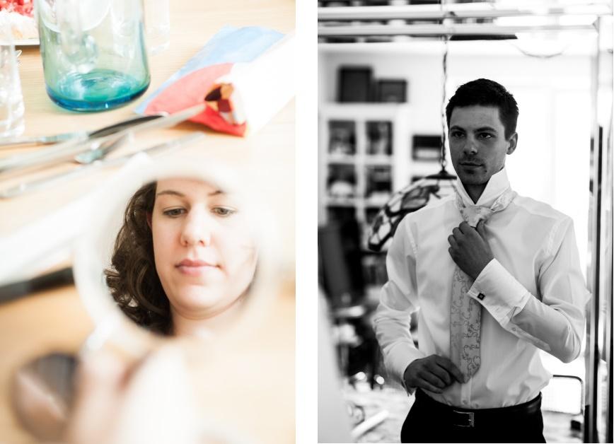 Hochzeitsreportage getting ready